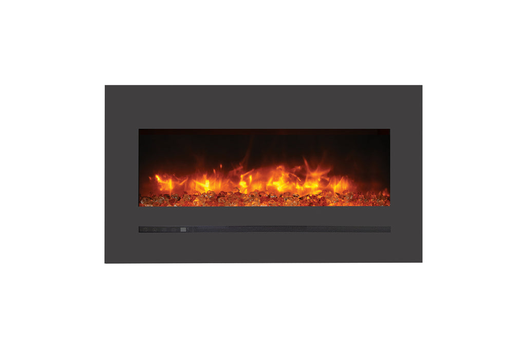 Sierra Flame 40-inch Wall Mount Linear Electric Fireplace