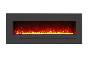 Sierra Flame 55-inch Wall Mount Linear Electric Fireplace