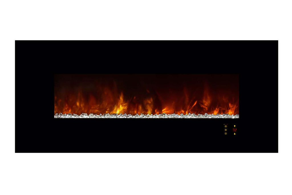 Modern Flames Ambiance 60'' Wall Mount Electric Fireplace