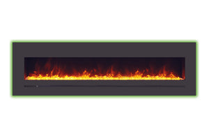 Sierra Flame 78-inch Mount / Recessed Electric Fireplace