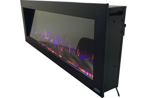 Touchstone Sideline 50 inch Outdoor Buit-in Electric Fireplace - 80017 - Electric Fireplaces Depot