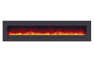 Sierra Flame 96-inch Mount / Recessed Electric Fireplace