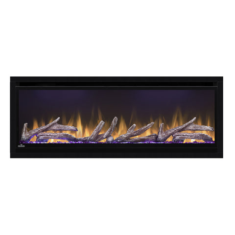 Napoleon Alluravision 50-iInch Electric Fireplace - Wall Mount - Deep - Linear - NEFL50CHD - NEFL50CHD1 - Electric Fireplaces Depot