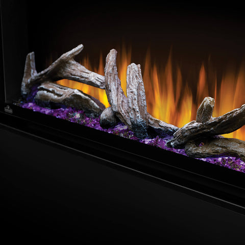 Napoleon Alluravision 100'' Deep Wall Mount Electric Fireplace