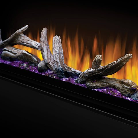 Image of Napoleon Alluravision 60'' Deep Wall Mount Electric Fireplace