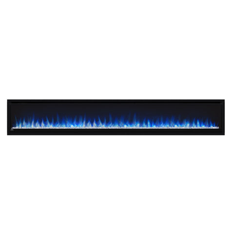 Image of Napoleon Alluravision 100-inch Wall Mount Electric Fireplace - Deep - Linear - NEFL100CHD - Electric Fireplaces Depot