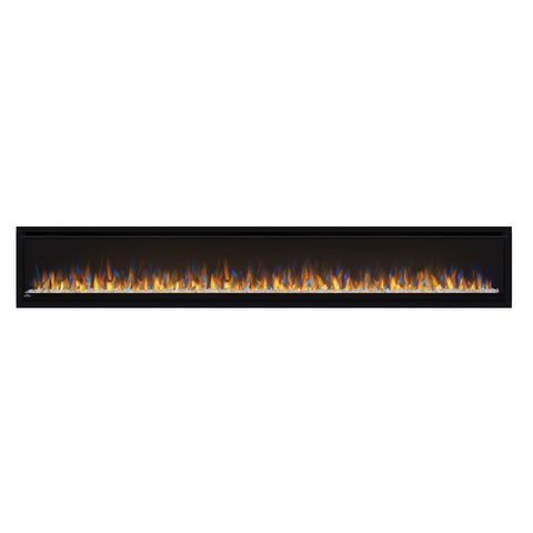 Image of Napoleon Alluravision 100-inch Wall Mount Electric Fireplace - Deep - Linear - NEFL100CHD - NEFL100CHD1-Electric Fireplaces Depot
