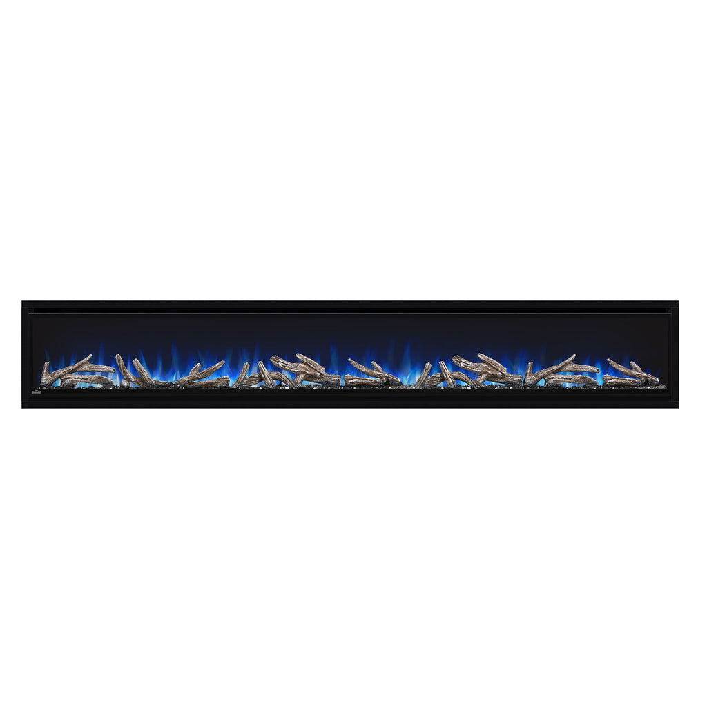 Napoleon Alluravision 100-inch Wall Mount Electric Fireplace - Deep - Linear - NEFL100CHD - Electric Fireplaces Depot
