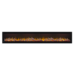 Napoleon Alluravision 100'' Deep Wall Mount / Recessed Linear Electric Fireplace