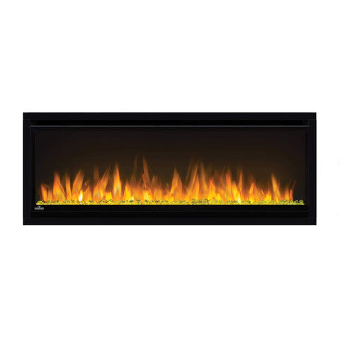 Image of Napoleon Alluravision 42-inch Linear Wall Mount Electric Fireplace - Slim - NEFL42CHS - Electric Fireplaces Depot