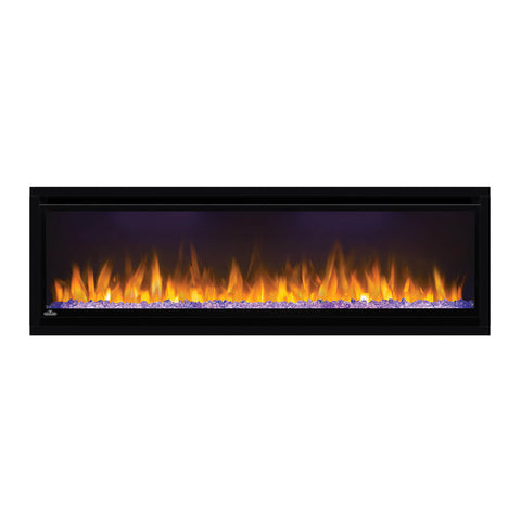 Image of Napoleon Alluravision 50-iInch Electric Fireplace - Wall Mount - Deep - Linear - NEFL50CHD - Electric Fireplaces Depot