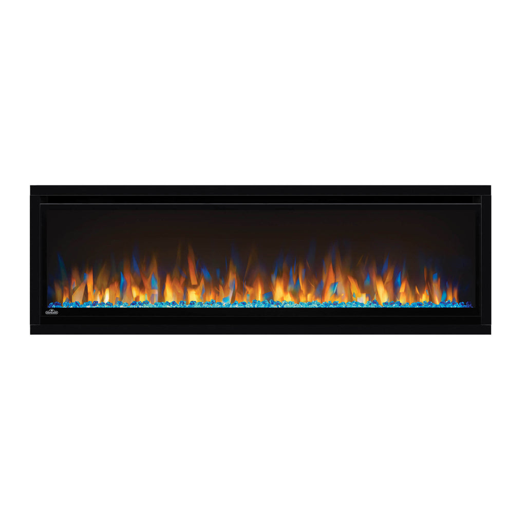 Napoleon Alluravision 50-inch Wall Mount Electric Fireplace - Slim - Linear - NEFL50CHS - Electric Fireplaces Depot