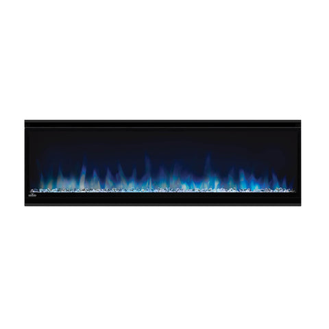 Image of Napoleon Alluravision 50-inch Wall Mount Electric Fireplace - Slim - Linear - NEFL50CHS - Electric Fireplaces Depot