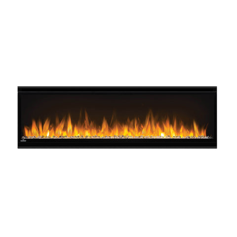 Image of Napoleon Alluravision 50-inch Wall Mount Electric Fireplace - Slim - Linear - NEFL50CHS - NEFL50CHS1 - Electric Fireplaces Depot