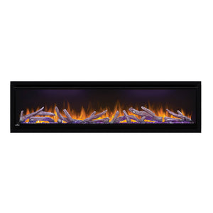 Napoleon Alluravision 60'' Deep Wall Mount / Recessed Linear Electric Fireplace