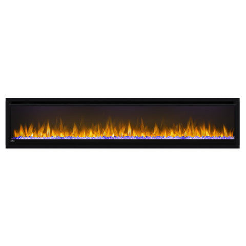 Image of Napoleon Alluravision 74'' Deep Wall Mount Electric Fireplace | NEFL74CHD | Built In - Electric Fireplaces Depot