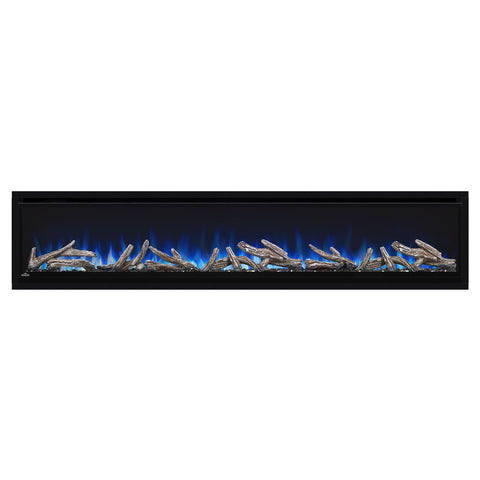 Napoleon Alluravision 74'' Deep Wall Mount Electric Fireplace | NEFL74CHD | Built In - Electric Fireplaces Depot