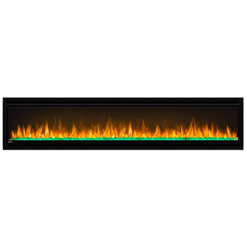 Napoleon Alluravision 74'' Slim Wall Mount Electric Fireplace