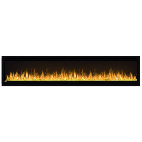 Napoleon Alluravision 74-Inch Wall Mount Electric Fireplace - Slim - Linear - NEFL74CHS - Electric Fireplaces Depot