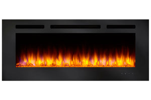 Hearth & Home SimpliFire Allusion 40'' Wall Mount / Recessed Electric Fireplace