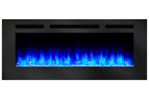 Hearth & Home SimpliFire Allusion 40 inch Wall Mount Electric Fireplace - SF-ALL40-BK - Electric Fireplaces Depot