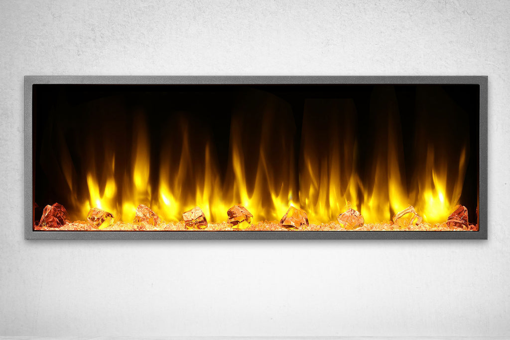 Dynasty Harmony 45 Inch Built In Linear Wall Mount Electric Fireplace | DY-BEF45 | Dynasty Fireplaces | Electric Fireplaces Depot