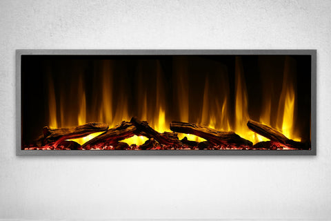Image of Dynasty Harmony 45 Inch Built In Linear Wall Mount Electric Fireplace | DY-BEF45 | Dynasty Fireplaces | Electric Fireplaces Depot