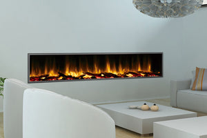 Dynasty Harmony 80'' Built-In Linear Electric Fireplace - BEF Series