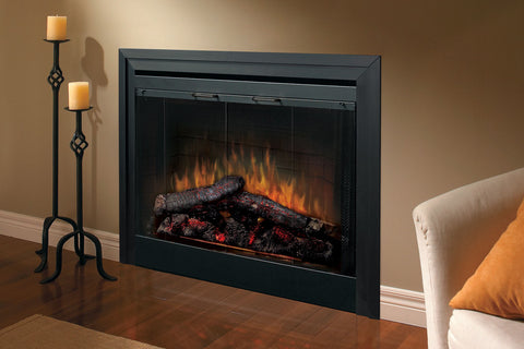 Image of Dimplex 33 inch Deluxe Electric Fireplace Insert - Firebox - Heater - BF33DXP