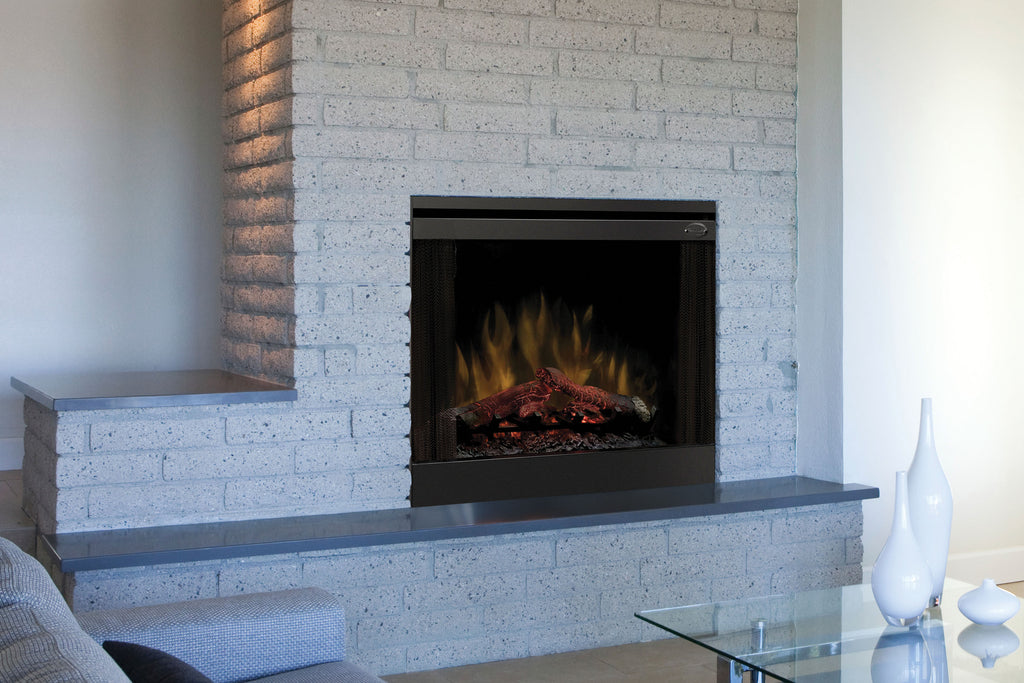 Dimplex 33'' Slim Line Built-in Electric Firebox - Fireplace - Heater - BFSL33 - Electric Fireplaces Depot
