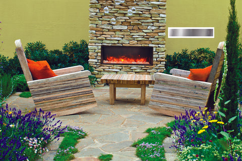 Amantii Panorama 40-inch Deep Built-in Indoor/Outdoor Electric Fireplace