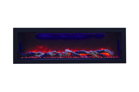 Amantii Panorama 50-inch Deep Built-in Indoor/Outdoor Electric Fireplace