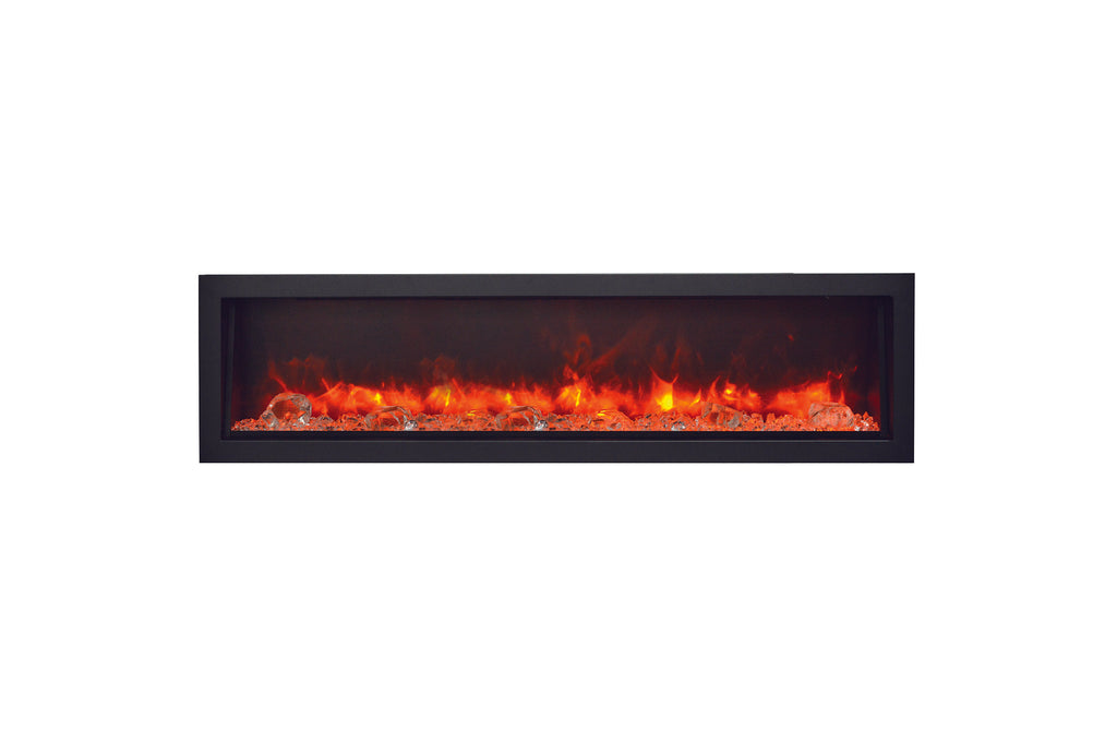 Amantii Panorama 60-inch Deep Built-in Indoor/Outdoor Electric Fireplace