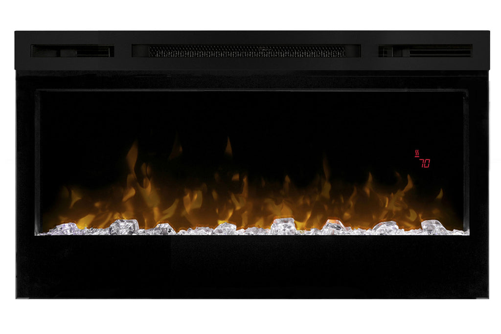 Dimplex Prism 34 Inch Wall-Mount Linear Electric Fireplace - Heater - BLF3451 - Electric Fireplaces Depot