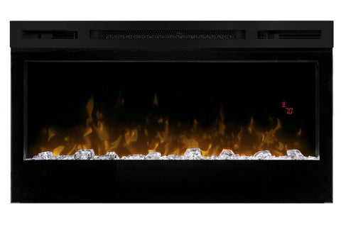 Image of Dimplex Prism 34 Inch Wall-Mount Linear Electric Fireplace - Heater - BLF3451