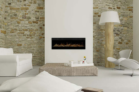 Image of Dimplex Prism 50 inch Wall-Mount Linear Electric Fireplace - Heater - BLF5051 - Electric Fireplaces Depot