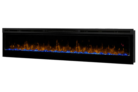 Image of Dimplex Prism 74 inch Wall-Mount Linear Electric Fireplace - Heater - BLF7451