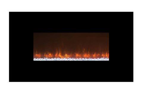 Image of Modern Flames Ambiance 45 Inch Wall Mount Electric Fireplace - Built In - AL45CLX2 - Electric Fireplaces Depot
