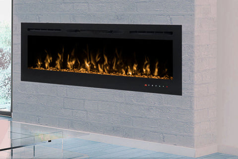 Modern Flames Challenger 50 inch Wall Mount Recessed Linear Electric Fireplace | Affordable Fireplace Insert | CEF-50B | Electric Fireplaces Depot