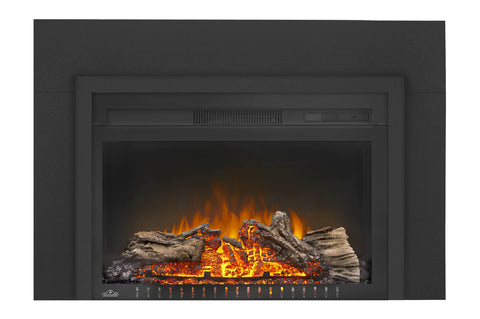 Image of Napoleon Cinema 27 Inch Electric Fireplace Insert - Log Series - Firebox Insert - Heater - NEFB27H-3A - Electric Fireplaces Depot