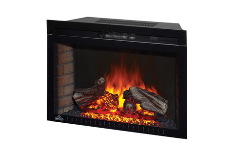 Napoleon Cinema 29 Inch Electric Fireplace Insert - Log Series - Firebox Insert - Heater - NEFB29H-3A - Electric Fireplaces Depot