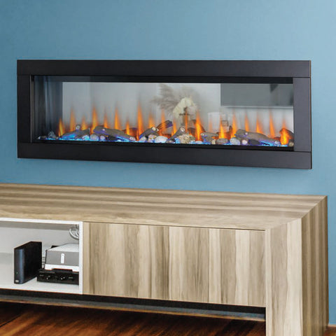 Image of Napoleon Clearion Elite 60 inch See Through Built in Electric Fireplace | SeeThru Insert | Heater | NEFBD60HE | Electric Fireplaces Depot