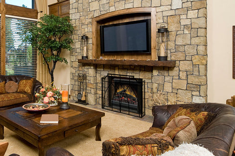 Image of Dimplex 23 Inch Standard Electric Fireplace Insert - Log Insert - Heater - DFI23096A - Electric Fireplaces Depot