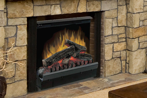Dimplex 23 Inch Standard Electric Fireplace Insert - Log Insert - Heater - DFI23096A - Electric Fireplaces Depot