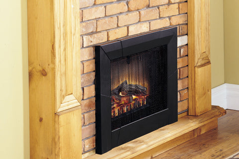 Image of Dimplex 23 Inch Deluxe Electric Fireplace Insert - Log Insert - Heater - DFI23106A - Electric Fireplaces Depot