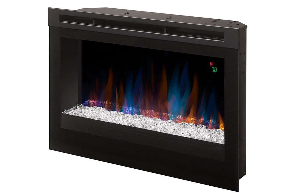 Dimplex 25-Inch Plug-In Electric Firebox with Acrylic Ice - Fireplace - DFR2551G - Electric Fireplaces Depot