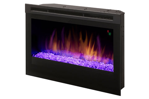 Image of Dimplex 25-Inch Plug-In Electric Firebox with Acrylic Ice - Fireplace - DFR2551G - Electric Fireplaces Depot