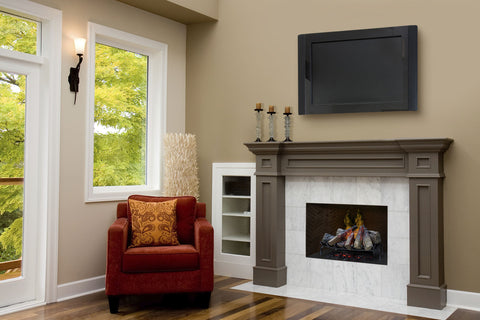 Image of Dimplex Opti-Myst 28-Inch Electric Fireplace Log Insert - Log Set - DLGM29 - Electric Fireplaces Depot