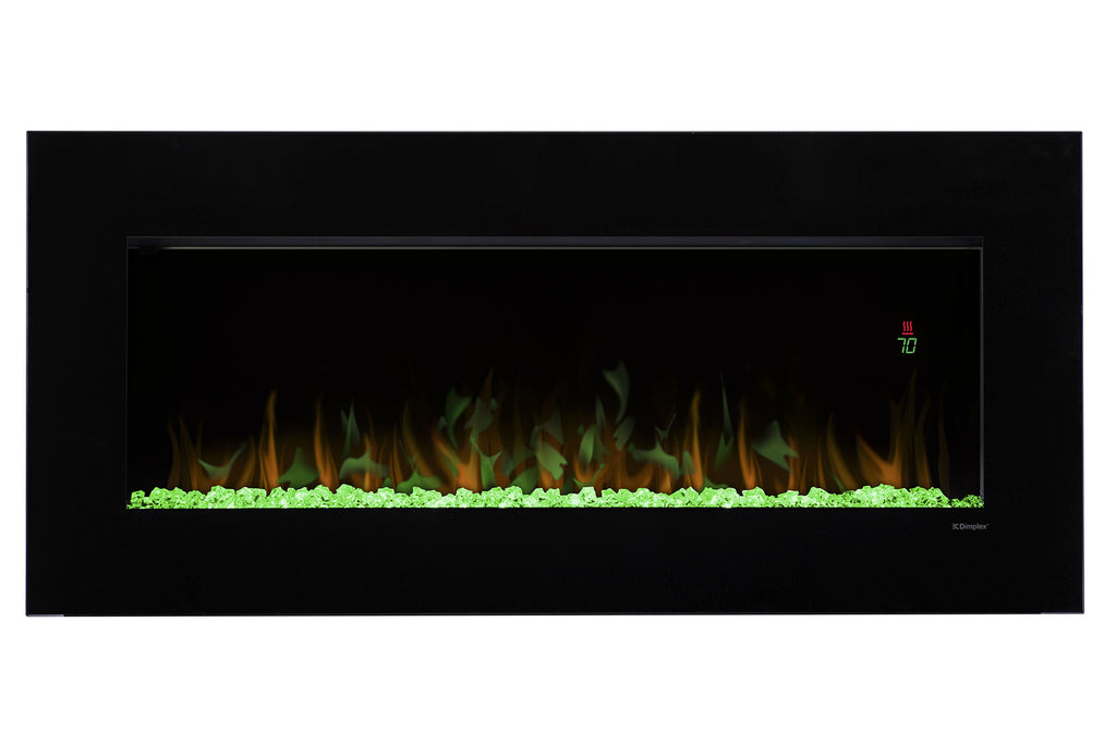 "Dimplex Nicole 43"" Wall-Mount Electric Fireplace"