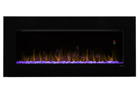 Image of Dimplex Nicole 43 Inch Wall-Mount Linear Electric Fireplace - DWF3651B - Electric Fireplaces Depot